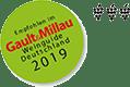 empfohlen vo Gault & Millau Weinguide Deutschland 2019