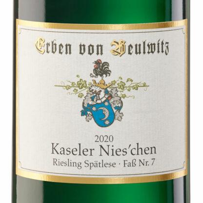 2020-Kaseler-Nieschen-Riesling-Spätlese-Alte-Reben-Fass-Nr-7